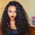 Suelto Y Rizado 360 Pelucas Del Cordón Frontal Pre Arrancó 8A 360 Del Frente Del Cordón Gluess Pelucas de Cabello humano Completo Encaje Pelucas de Pelo Humano Para Las Mujeres Negras