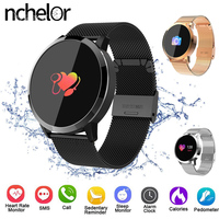 New Screen Smartwatch Heart Rate Smart Watch Men Women IP67 Waterproof Sport Fitness Wearable Device Electronics for Android IOS