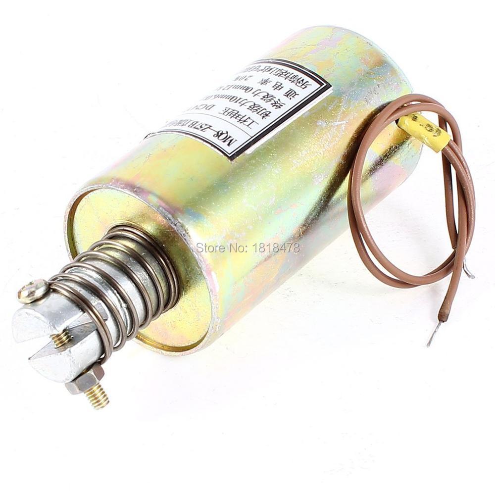цена на MQ8-Z57B 10mm 6kg 0mm 12kg Push Pull Type Action DC Solenoid Electromagnet DC12V DC24V