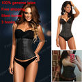 Real Latex body shaper control underwear sliming belt loss weight ann chery waist cincher plus size waist trainer corsets FY022