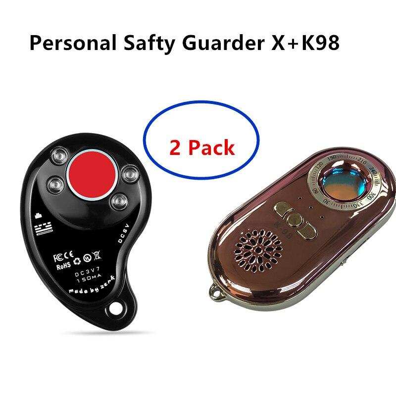 Détecteur de Scanner Laser RF IR 2 paquets détecteur de caméras candides pour la sécurité de protection privée à l'extérieur