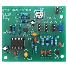 Sine Triangle Square Wave NE555 Multi-Channel Waveform Generator Module DIY Kits