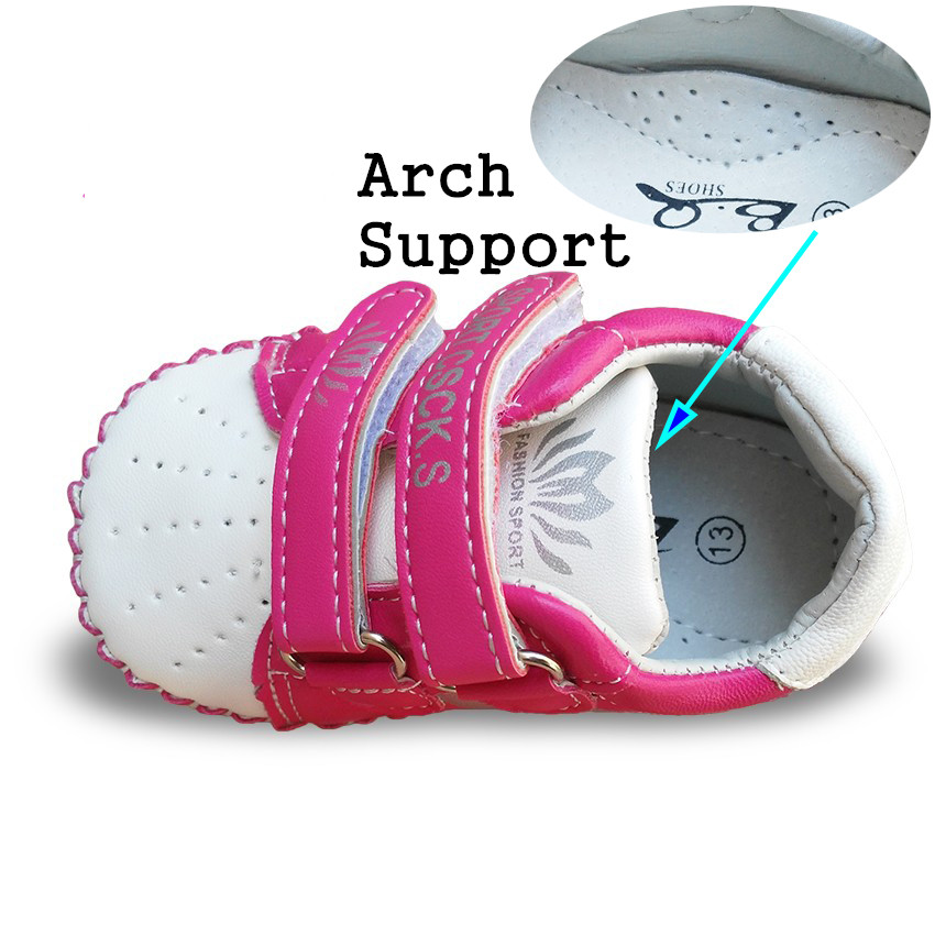 Spring 1pair breathable arch support Children Sneakers