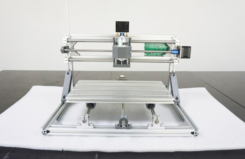 1610 + 500 mw laser et cnc machine de gravure = mini machine de gravure CNC DIY Arduino, zone de travail 16*10 cm ajouter 500 mw laser