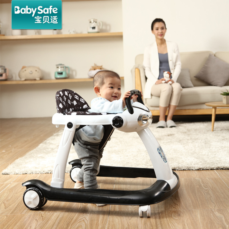 6-18Months Baby Adjustable Walker Baby Balance First Steps Car Early Educational Music Kids Toddler Trolley Sit-to-Stand Walker6-18Months Baby Adjustable Walker Baby Balance First Steps Car Early Educational Music Kids Toddler Trolley Sit-to-Stand Walker