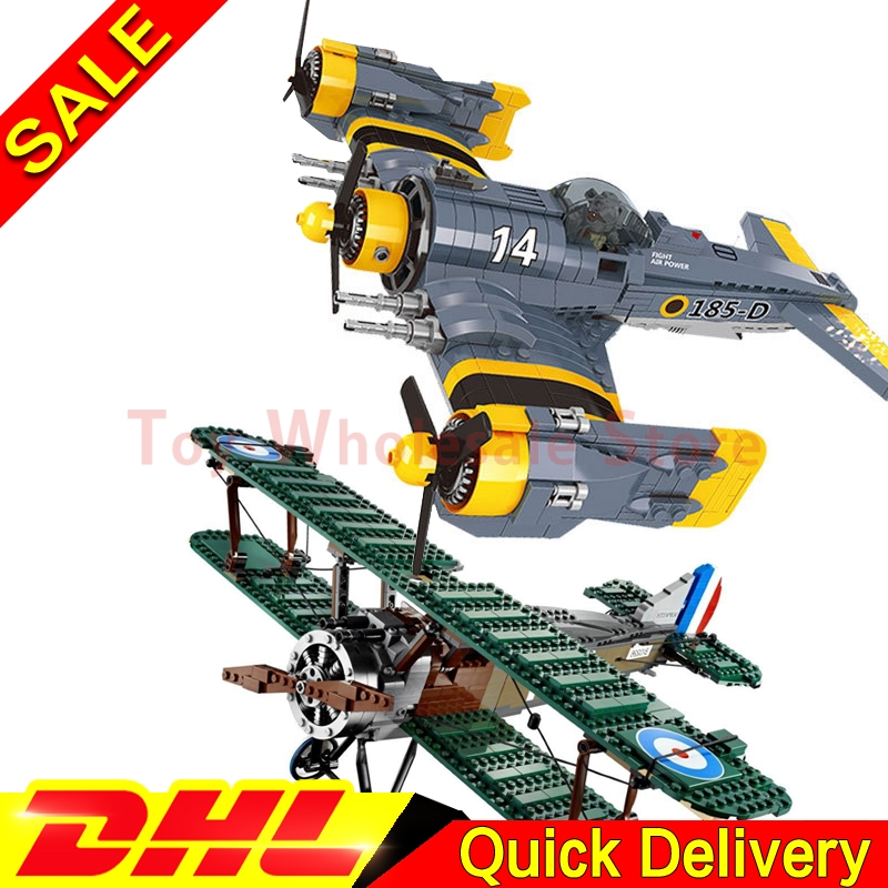 Lepin 22021 The Science Fiction Fighter + Lepin 21021 The Camel Fighter Technical Kits Building Blocks Bricks Toys Model 10226 цена и фото