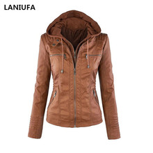 Женские куртки из искусственной кожи, женские мотоциклетные пальто на молнии, Женская Осенняя зимняя теплая верхняя одежда, куртки на молнии, женские пальто