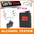 Fashion high accuracy mini Alcohol Tester,breathalyzer ,alcometer ,Alcotest remind driver safety in roadway diagnostic tool