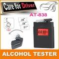 Moda de alta precisão mini álcool tester, Bafômetro, Alcometer, Alcotest lembrar de motorista de estrada ferramenta de diagnóstico