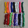 24 Meters Soft Satin Rattail Silk Macrame Cord Nylon For Diy Bracelet Necklace Jewelry Findings Accessories 1mm