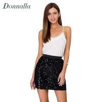 Women Skirt Sexy High Waist Party Glitter Mini Skirt Bodycon Black Sequin Skirt Sexy Petite Tight