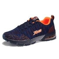 2017 New Men Running Sneakers Sale Air Cushion Sneakers Online Shop Men Lace Up Walking Footwear