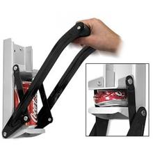 Wall Mounted Durable to Use Strong 16oz Can Crusher with Bottle Opener