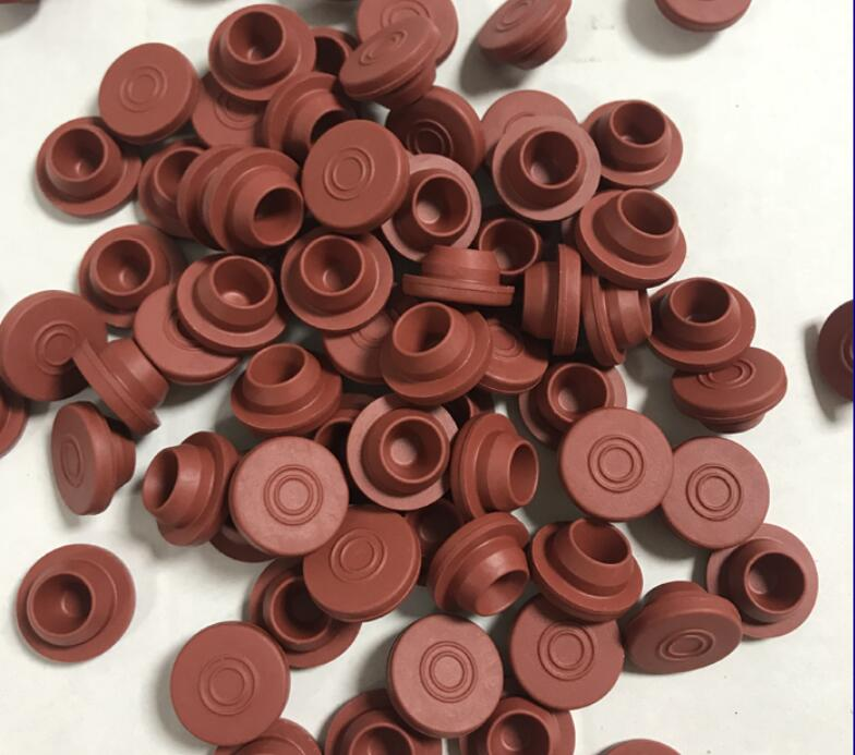 100pcs/lot 20mm Red Cork Pharmaceutical Butyl Rubber Plug Stopper Bottle Filp Off Cap Rubber Plug Stopper