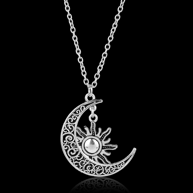 dongsheng Moon of My Life Sun and Stars Pendent Necklaces Khaleesi Nrcklace Game Of Thrones Necklace For Women Girls Gift -30