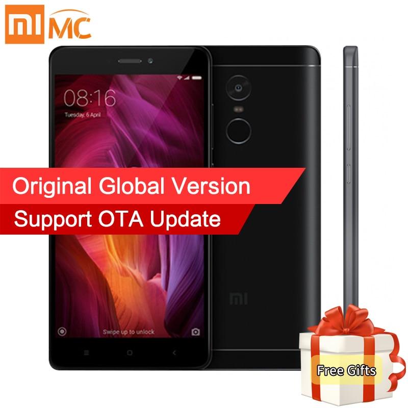 Global Version Xiaomi Redmi Note 4 Qualcomm 4GB 64GB Mobile Phone Snapdragon 625 Octa Core 5