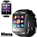 Новый Q18 Шагомер Смарт часы с Сенсорным Экраном Камера TF карта Bluetooth smartwatch Для Android/IOS Мобильный Телефон Apro DZ09 GT08