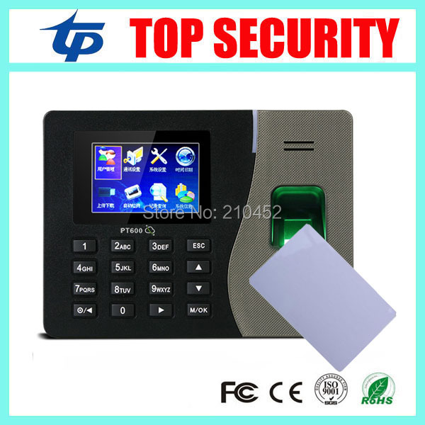 PT600 zk biometric fingerprint time attendance system with TCP/IP communication fingerprint and MF card time attendance recorder tx628 3 inch color screen tcp ip fingerprint time attendance recorder time clock zk linux system fingerprint time and attendance