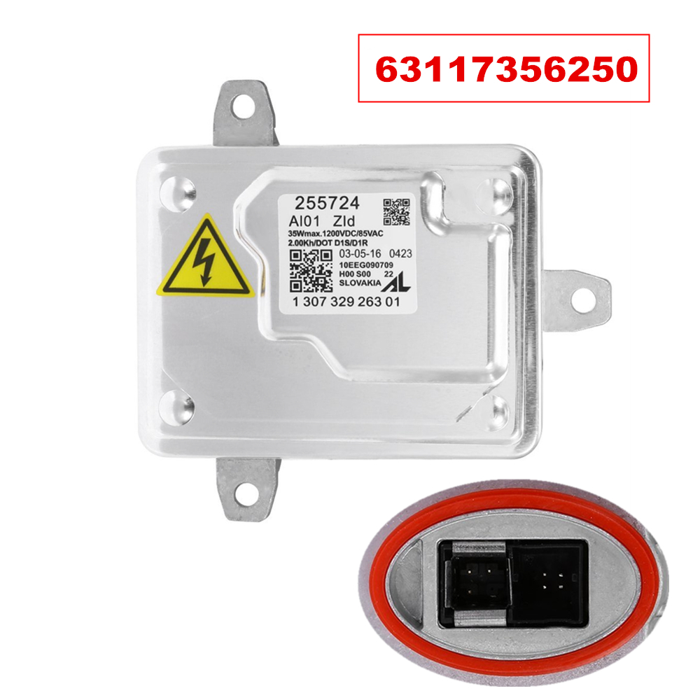 bmw x3 stereo wiring harness 63117356250 xenon headlight hid ballast control unit ... bmw x3 ballast wiring diagrams #10