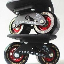 1 пара Скейтборд девочка мальчик прочный красное колесо мини Дрифт скейтборд рыба короткая доска роликовый скейтборд скейт скутеры-доски
