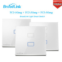 Broadlink TC2 1 2 3 Gang Smart Home Automation Phone Remote Wifi Wall Touch Light Switch