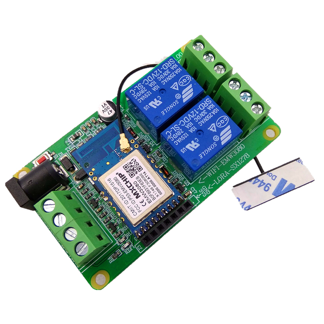 US $22 8 |Modbus RTU 2 way WIFI Relay LORA Wireless Relay 12V 24V With WIFI  Module-in Instrument Parts & Accessories from Tools on Aliexpress com |