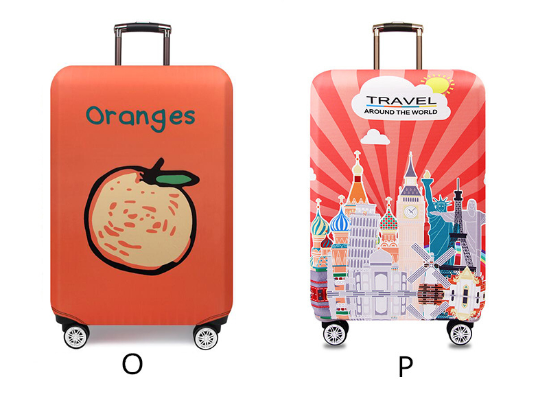 Thicker Travel Luggage Protective Cover Suitcase Case Travel Accessories Elastic Luggage Dust Cover Apply to 18''-32'' Suitcase 13