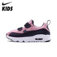 Nike Air Max 90 оригинальные детские кроссовки Повседневные Удобные спортивные уличные кроссовки #881926 602