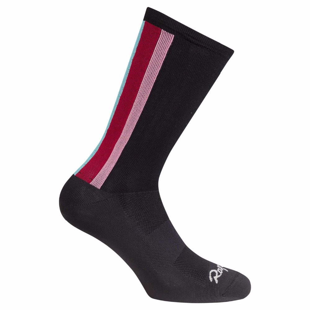 2017 Rapha High Quality Professional Brand Sport Socks Breathable Road Bicycle Socks Outdoor Sports Racing Cycling Sock Footwear