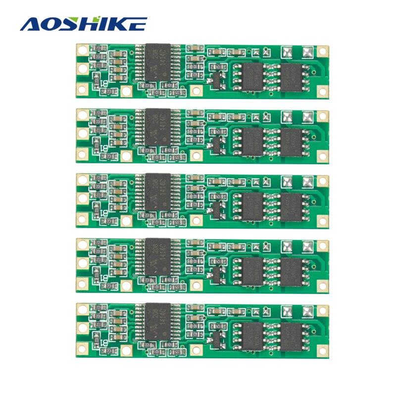 Aoshike 5 шт. Батарея BMS защиты печатной платы для 3-4 пакетов 18650 литий-ионный Батарея ячейки