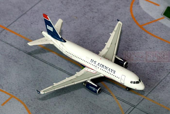 GJUSA1397 GeminiJets all American Airlines N801AW 1:400 A319 commercial jetliners plane model hobby