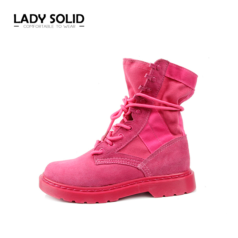 2018 Spring AutumnWoman Shoes Women TPR Lace-Up Cross-Tied Red 35-40 Fashion Women Boots #7071 2016 spring and summer free shipping red new fashion design shoes african women print rt 3