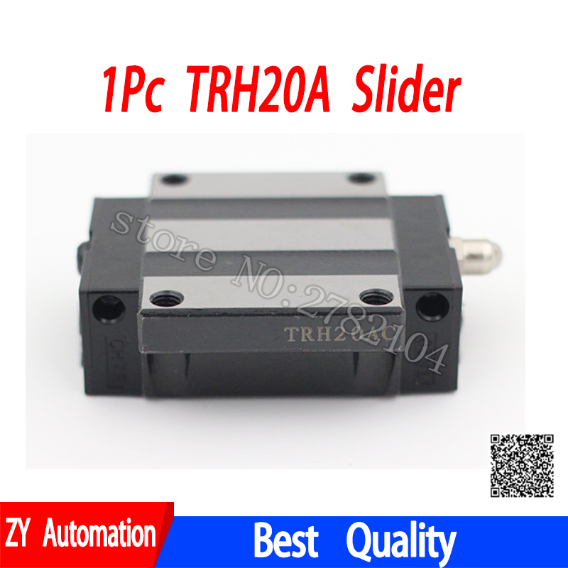 1pc TRH20A slider block match use TRH20 linear guide for linear rail CNC diy parts hgh20ca slider block hgh20 ca match use hgr20 linear guide for linear rail cnc diy parts
