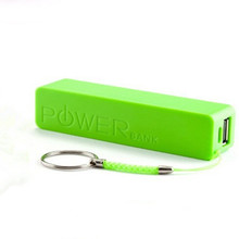 free shipping 2600mAh External Portable Power Bank Backup Battery USB Charger For Mobile Phone