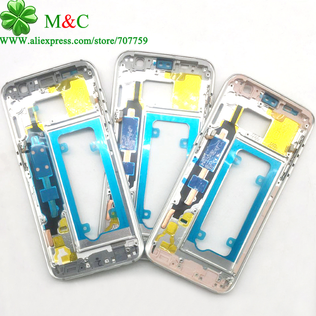Оригинальный S7 S7 Край Ближний Корпус Рамка Для Samsung Galaxy G930 и S7 S7 G935 Ближний Шасси Плиты Случае сообщение