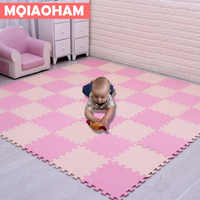 Newest 18pcs/set EVA Children's Foam Carpet Mosaic floor Puzzle Carpet Baby Play Mat Floor Developing Crawling Rugs Puzzle Mat