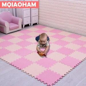 Image 1 - Tapete de eva para crianças com 9/18/pçs/set, mais novo tapete de mosaico de espuma para brincadeiras, desenvolvimento de bebês e engatinhando tapetes de quebra cabeça