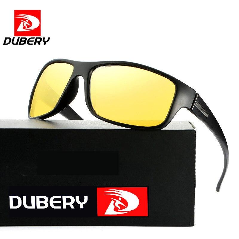 DUBERY Polarized Driving Sunglasses Men's UV400 Vintage Male Colorful Sun Glasses For Men Eyeglasses Sunglasses Mirror Shades