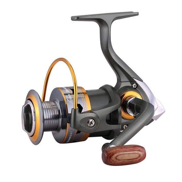 Спиннинг катушка рыболовная рыбалка катушки 11BB катушка для спининга1000-7000 серия металлическая катушки рыболовные катушки лодка рок рыболовное колесо