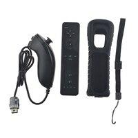 Пульт дистанционного управления для Nintendo wii 2 в 1 без движения плюс Bluetooth беспроводной пульт дистанционного управления для wii Nunchuck Joypad