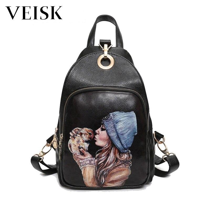 Women Leather Backpack Multifunctional Backpack Women Soft Back Pack Backpacks For Teenage Girls Fashion Shoulder Bags