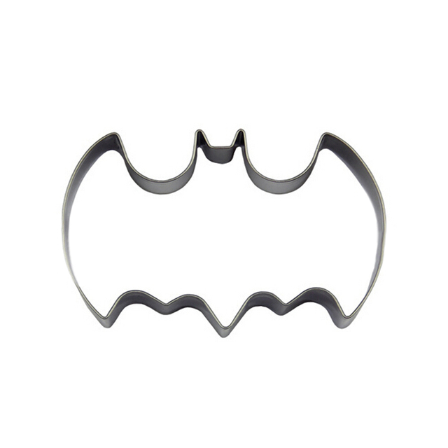 hot sale halloween fondant cake cookies biscuit cutter mold 1 pieces big bat batman vampire mould