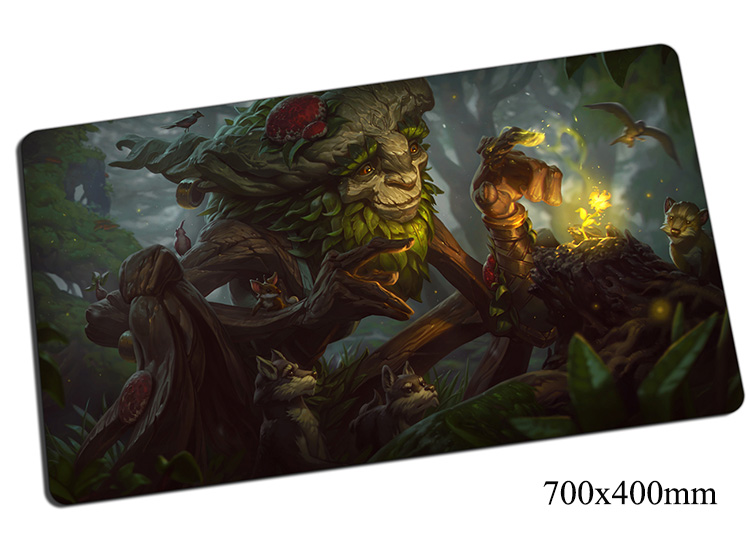 cool Ivern mouse pad 700x400x2mm gaming mousepad gear lol gamer mouse mat pad game computer Green Father mouse best play mats