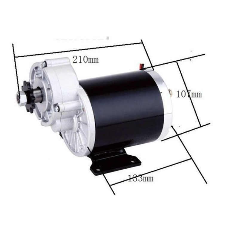 MY1020Z 600W 36 V/48 V engrenage à courant continu moteur brossé e-bike elettrica hub moteur bricolage E-BIKE pièces vtt electrique puissant montagne