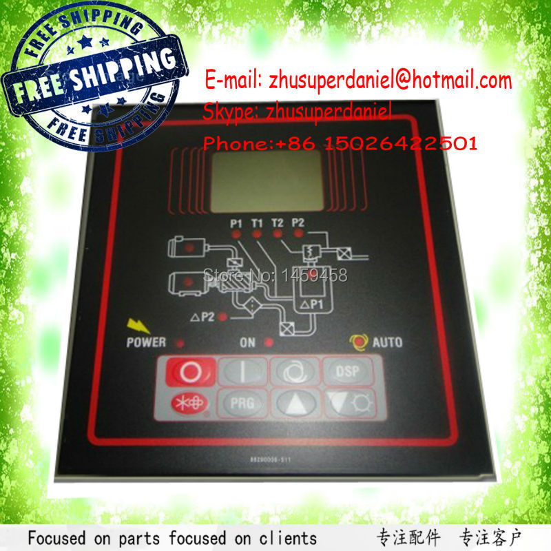 Free Shipping Sullair Luxury kind 88290007-999 Brand new OEM Microprocessor Controller Panel for Air Compressor Parts free shipping liutech compressed air parts microcontroller panel 1900071392 for air compressor