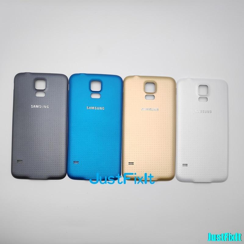 Чехол для SAMSUNG Galaxy S5 G900F G900A G900P, чехол для замены батареи, чехол для задней панели из стекла