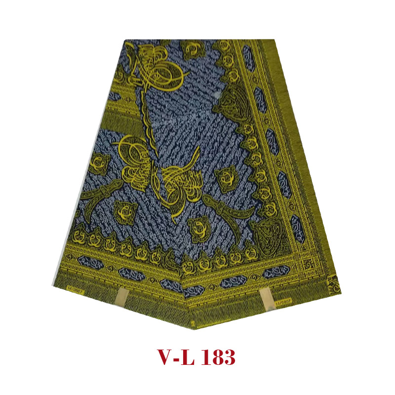 2019High Quality Pagne African Wax Flower Prints African Fabric Cloth Block Ankara Soft Real Wax V-L 183