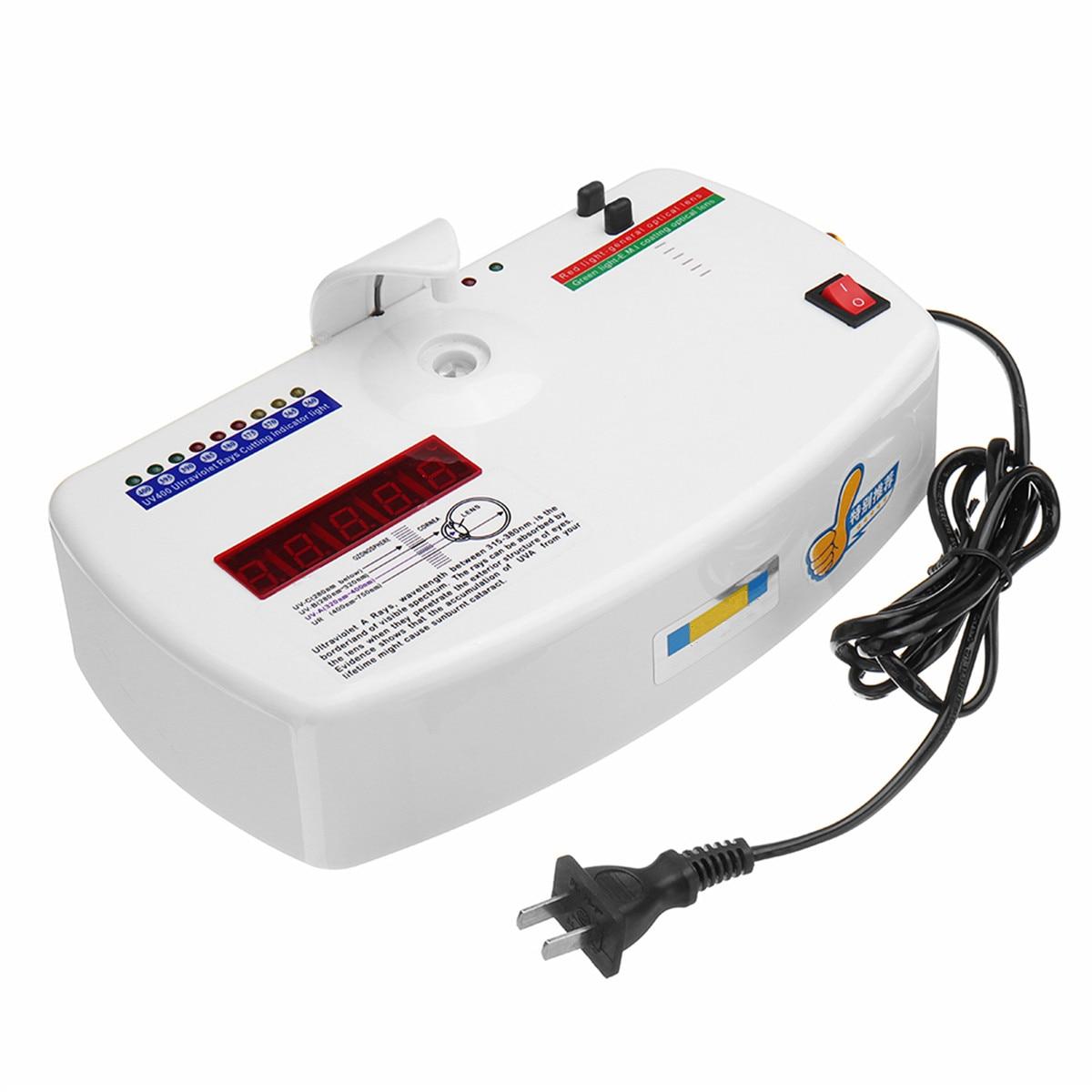 220V UV400 Radiation Ultraviolet Resistance Tester UV Protection Test Detector Glasses Testing Equipment Tool цены
