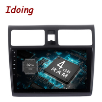 Idoing 2Din 9 2GB 32GB For Suzuki SX4 Android 6 0 Steering Wheel Octa Core Car