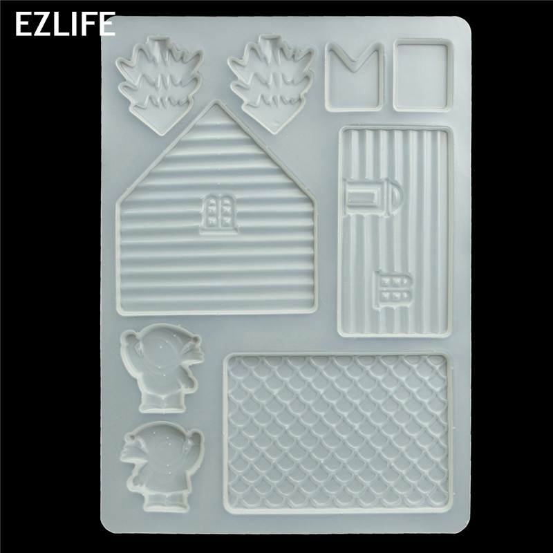 Wondrous Us 2 45 3D Fairy House Door Silicone Fondant Mould Ice Cube Tray Cake Chocolate Mold For Diy Cake Decorating Tool Kt0411 In Baking Pastry Tools Download Free Architecture Designs Scobabritishbridgeorg